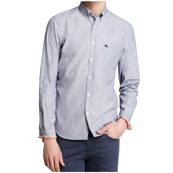 Burberry Men's Fred Chambray Shirt (Size S)