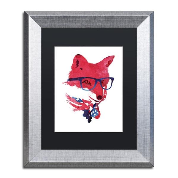 Robert Farkas 'American Fox' Matted Framed Art