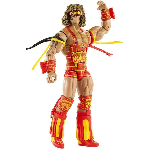 WWE Defining Moments Ultimate Warrior Elite Figure