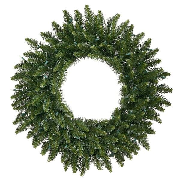 Artificial Camdon Fir 20-inch Wreath