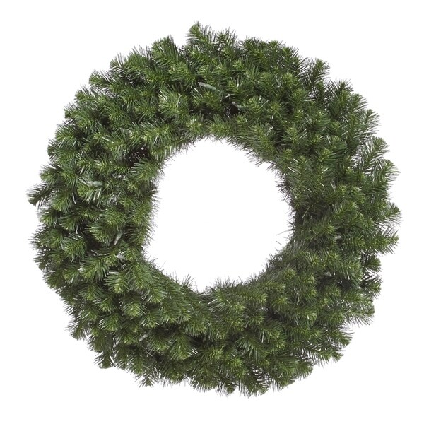 Vickerman's Green 36-inch Douglas Fir Wreath with 320 Tips