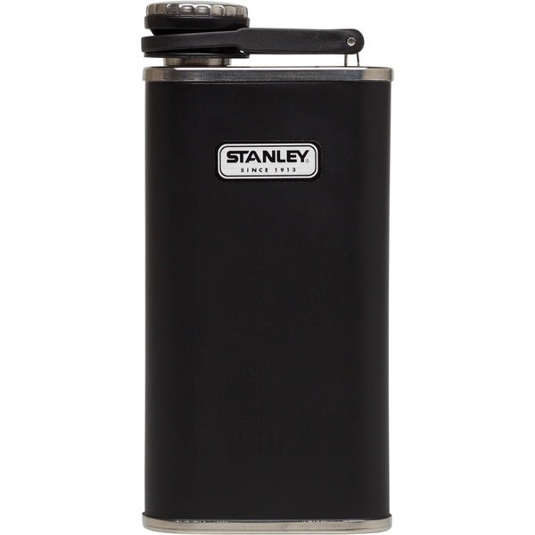 Stanley Matte Black Stainless Steel 8-ounce Classic Flask