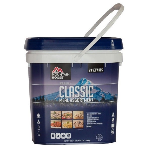 Mountain House Just in Case Classic Emergency 12-meal Bucket