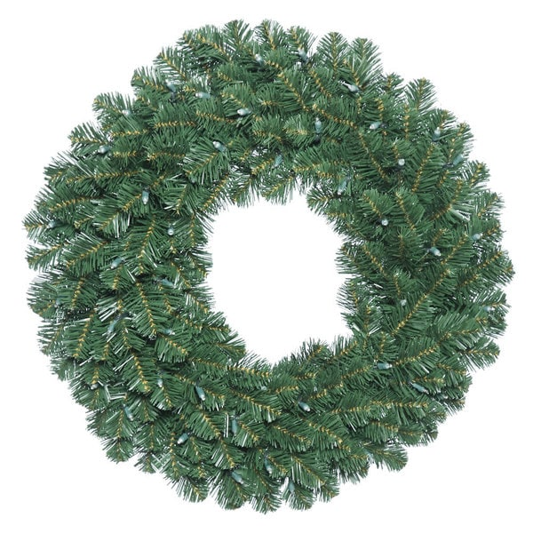 24-inch Oregon Fir Wreath with 110 Tips