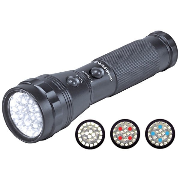 S&W Galaxy Series 28RBW LED Flashlight with Dual Switch
