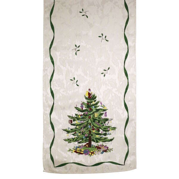 Spode Polyester Tree Table Runner