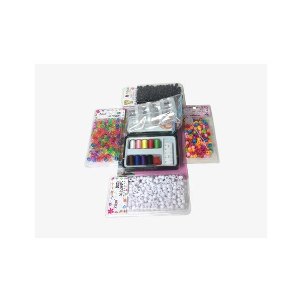 Do-It-Yourself String and Beads Crafts Set
