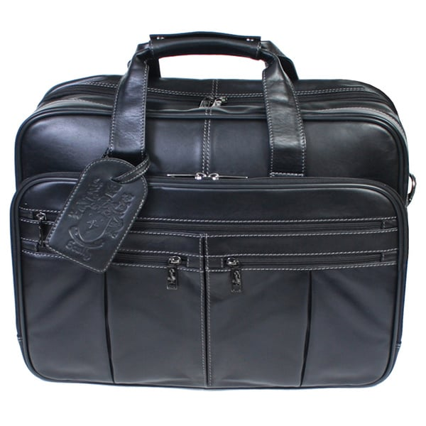 Scully Leather Checkpoint-friendly Laptop Computer Briefcase