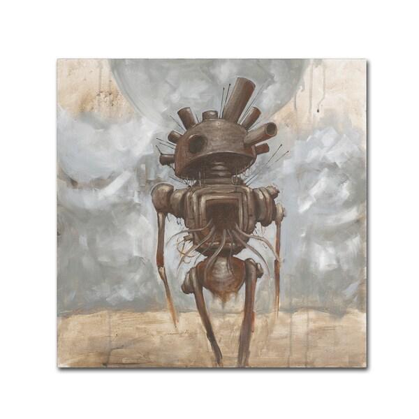 Craig Snodgrass 'Brought the War Home' Canvas Art