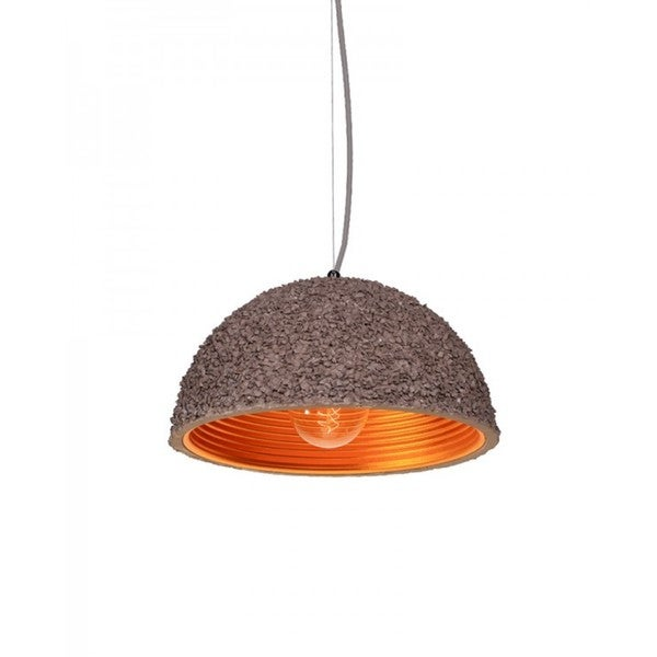 Concrete Pebbled Shade Pendant Lamp Shade