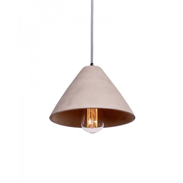 Concrete Tapered Shade Pendant Lamp Shade