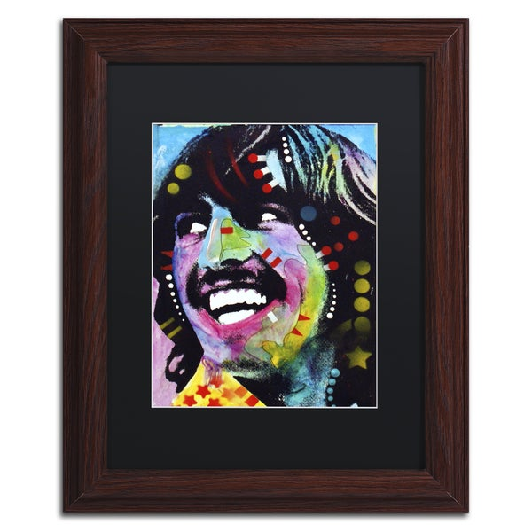 Dean Russo 'George Harrison' Matted Framed Art