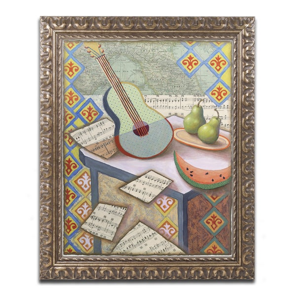 Rachel Paxton 'Music Magic' Ornate Framed Art