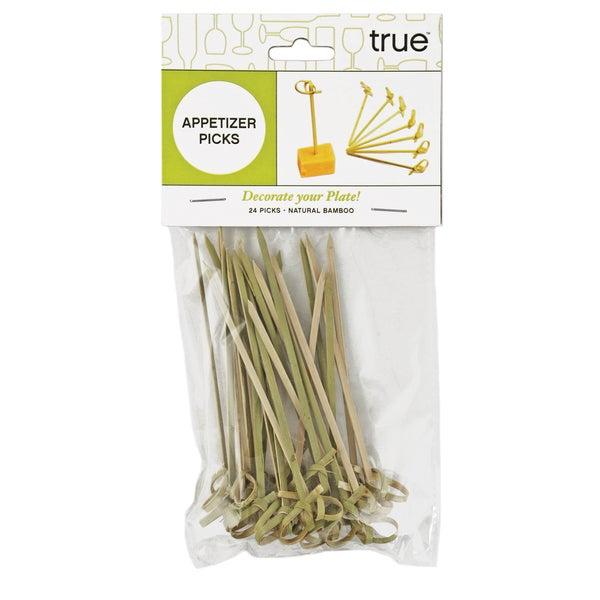 True 639 Bamboo Appetizer Sticks 24 Count