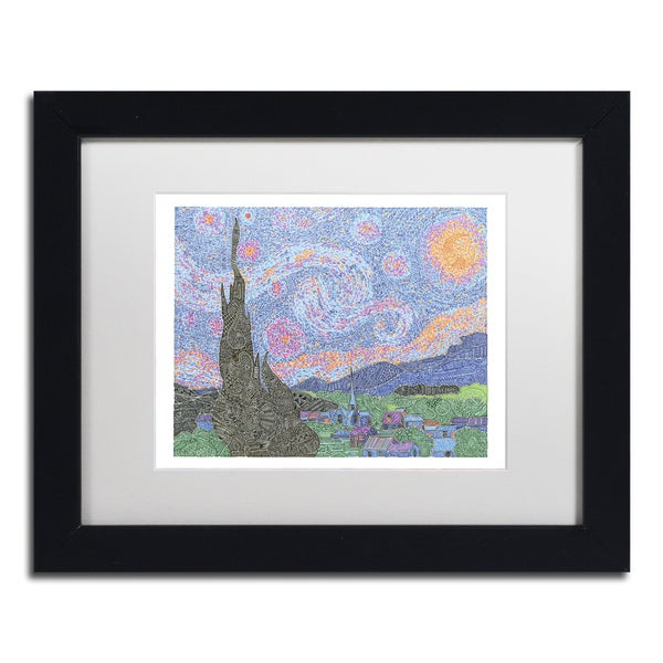 Viz Art Ink 'A Night To Remember' Matted Framed Art 21479622