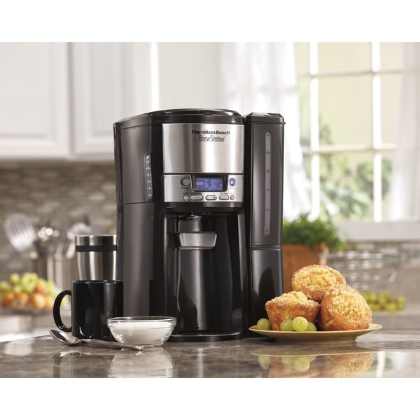 Recertified Hamilton Beach BrewStation 12-cup Dispensing Coffee Maker 21479688