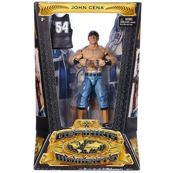 Mattel WWE Defining Moments Elite John Cena Action Figure