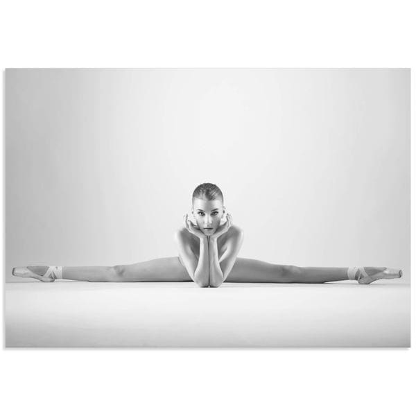 Arkadiusz Branicki 'Ballerina Splits' Classy Nude Photography on Metal or Acrylic 21480991