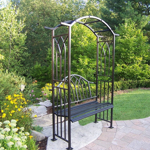 London Arbor with Bench