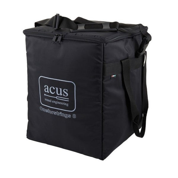 Acus Sound Engineering Black Nylon Amplifier Bag for Oneforstrings 8, OneforAll, and Oneforstring Extension Amplifiers