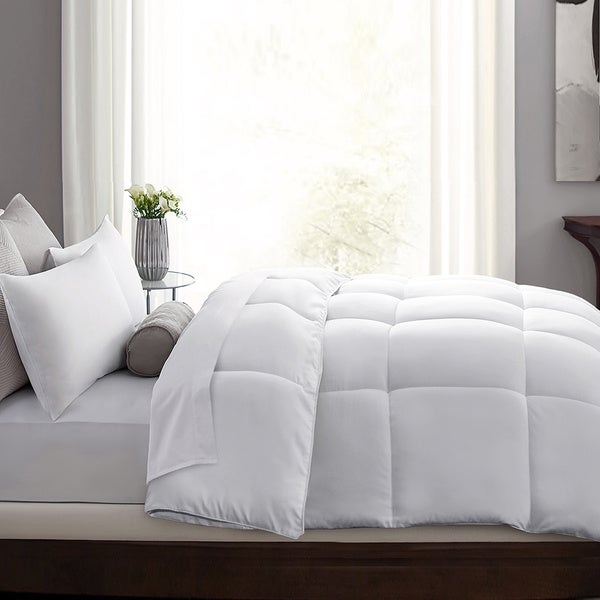 Microfiber Down and Feather Comforter