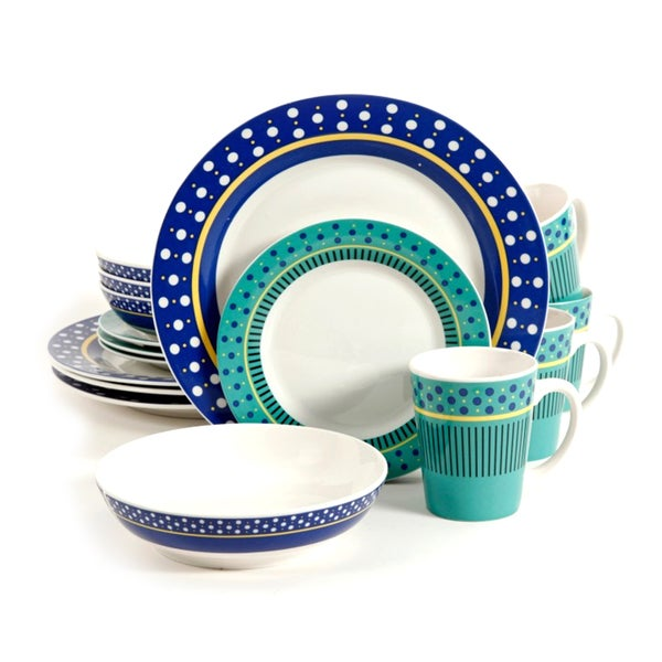 Gibson Lockhart 16pc Dinnerware Set
