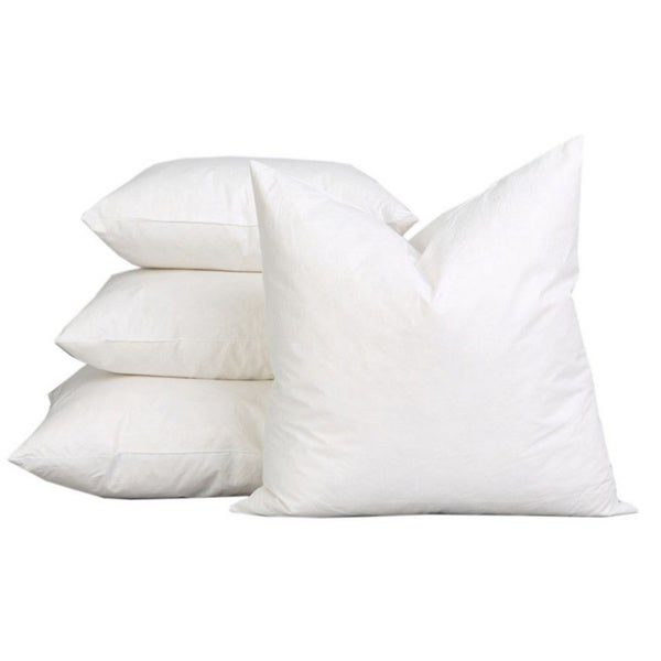 95% Feather 5% Down Extra Fluff and Durable Pillow Insert (Set of 2)