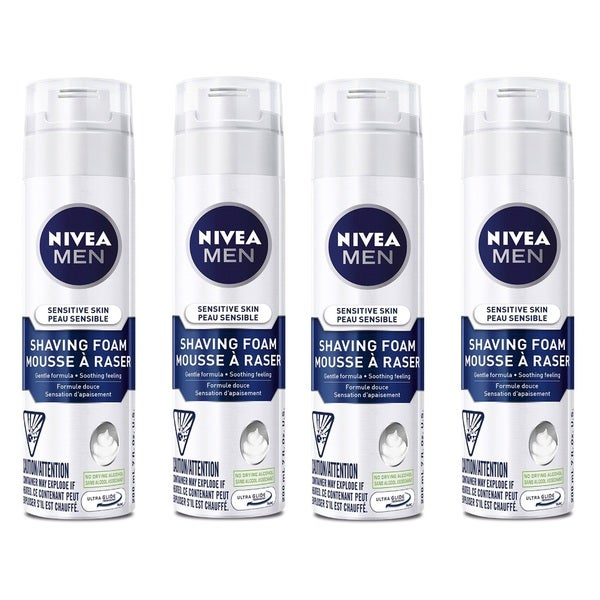 Nivea Men's 6.7-ounce Sensitive Shaving Foam