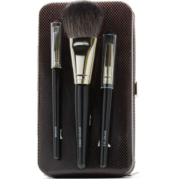 Laura Mercier 4-piece Travel Makeup Brush Set