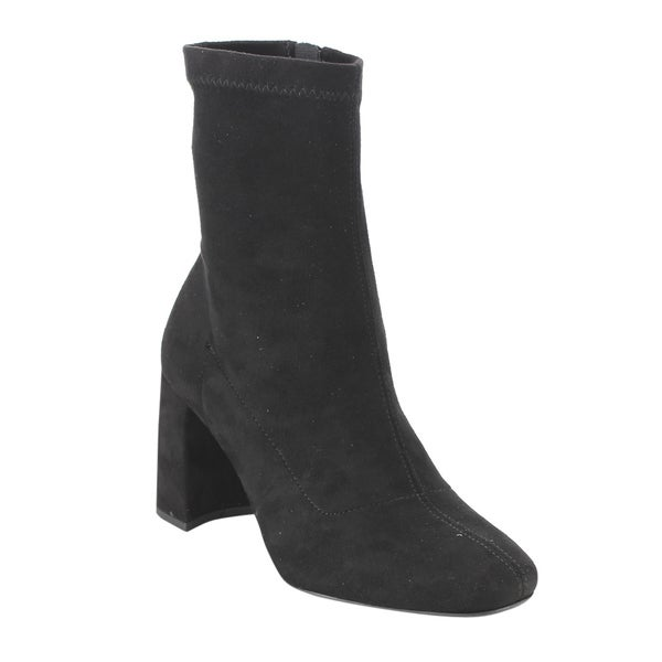 Speed Limited 98 FE65 Women's Faux Suede Ankle-high Block-heel Boots