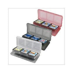 Three Colored 6 in 1 Game Card Holders For Nintendo DS and Dsi