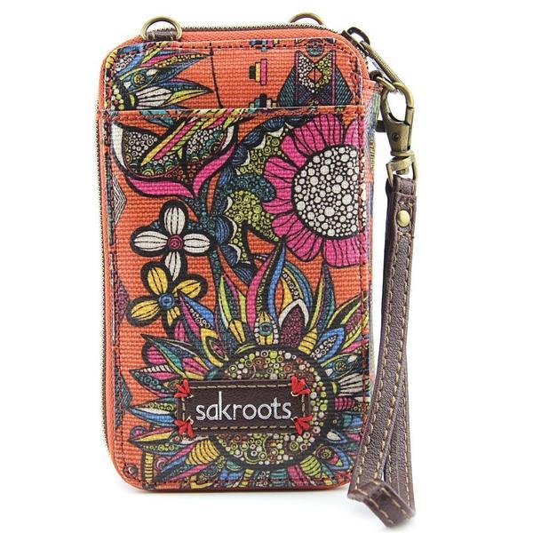 Sakroots Women's Artist Circle Smartphone Wristlet Synthetic Handbag