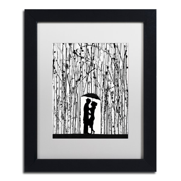 Marc Allante 'Film Noir' Matted Framed Art