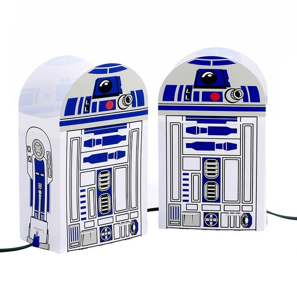 Kurt Adler 5-Light Star Wars R2D2 Luminary Outdoor Dcor