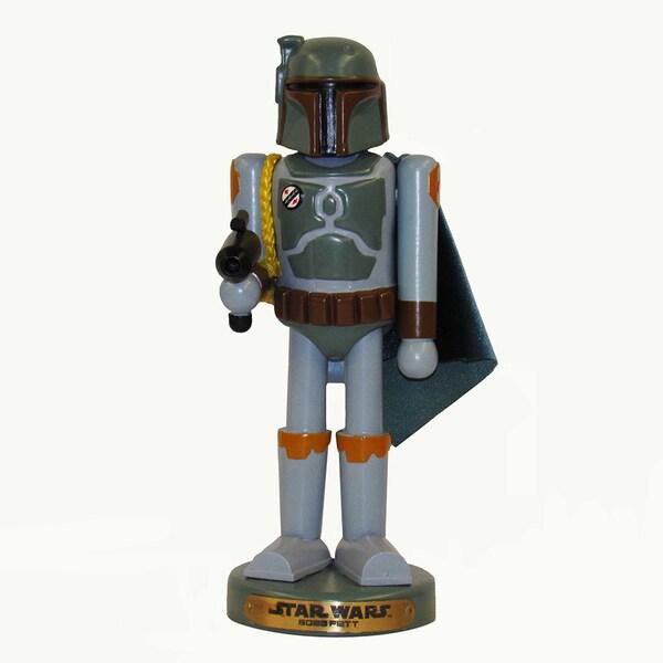 Kurt Adler 10-Inch Star Wars Boba Fett Nutcracker
