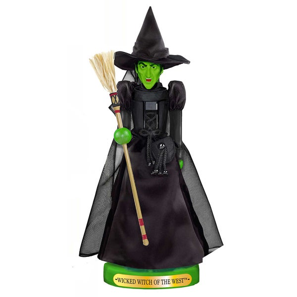 Kurt Adler 11-Inch Wizard of Oz Wicked Witch Nutcracker
