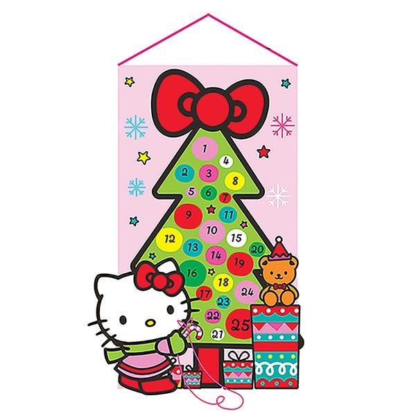 Kurt Adler 19-Inch Fabric Hello Kitty Advent Calendar