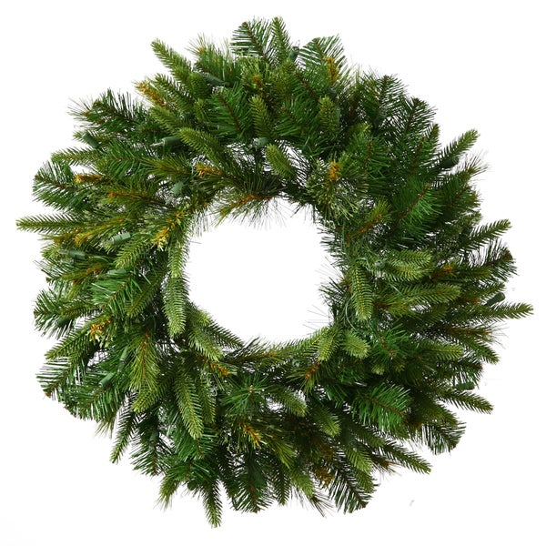 Cashmere Green Artificial 72-inch 760-tip Wreath