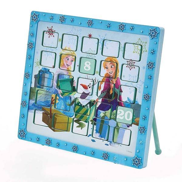 Kurt Adler 9.5-Inch Frozen Anna and Elsa Advent Calendar