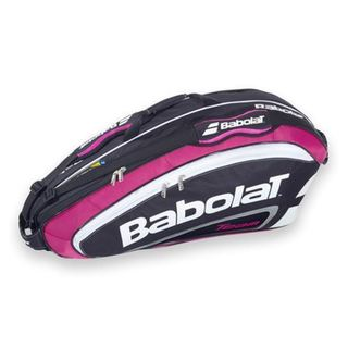 Babolat Team Line Pink Nylon Tennis Bag (Pack of 6)