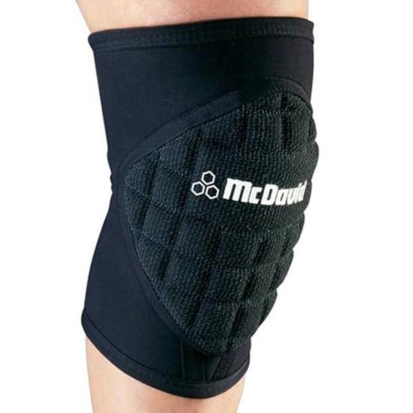 McDavid Classic 670 Black Deluxe Handball Indoor Knee Pad