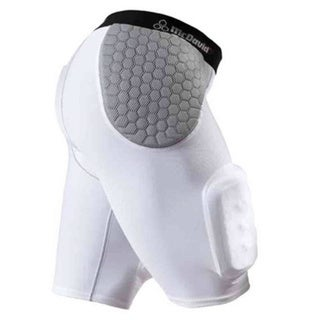 McDavid Classic 7552 White/Grey Medium Hardshell Thigh Guard Girdle