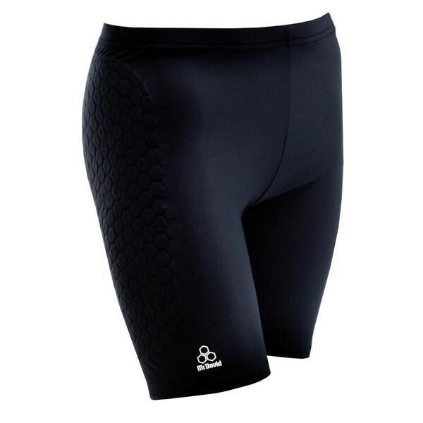 McDavid Classic Women's Black Large Hexpad Sliding Shorts