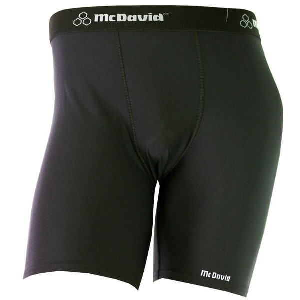 McDavid Classic Men's 706 Black X-small Mid-length Compression Shorts