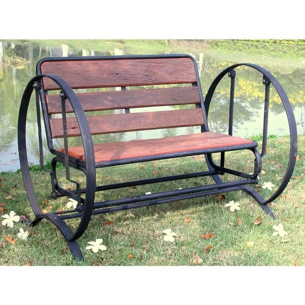 Iron Horse Glider Bench