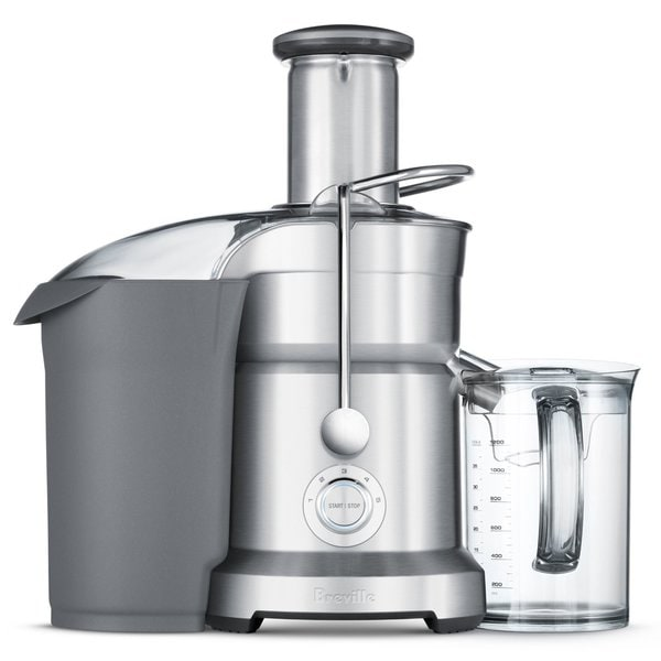 Breville BJE820XL Juice Fountain Duo Dual Disc Juicer, Silver