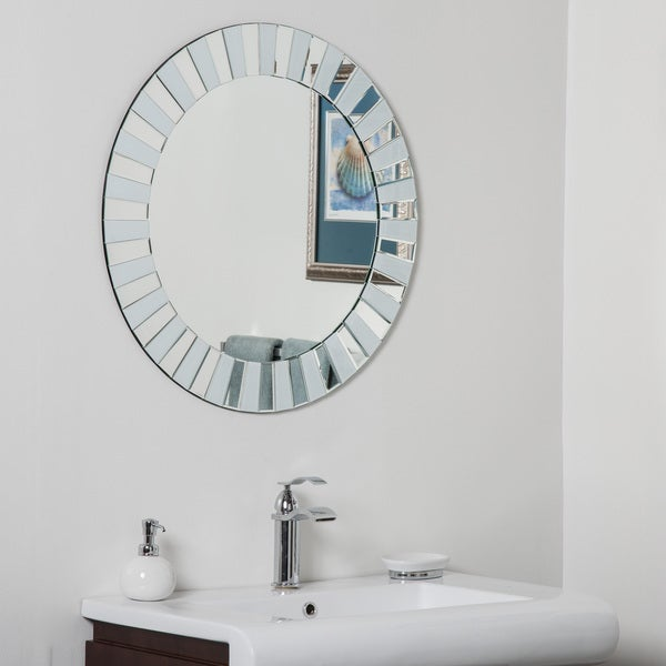 kiara modern bathroom mirror 21533981 ssm529a decorwonderland photo