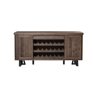 Alpine Prairie Sideboard with Wine Holder