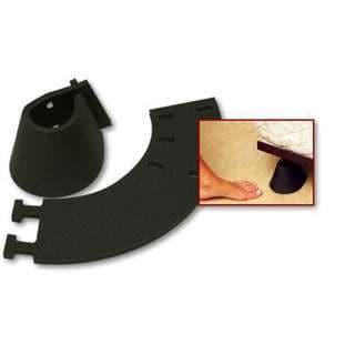 Toe Saver 2000 Black Resin Toe Protectors (Pack of 4)
