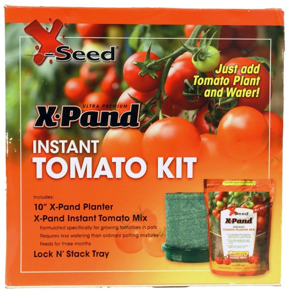X-Seed 20279 Instant Tomato Planter Kit 2 Count